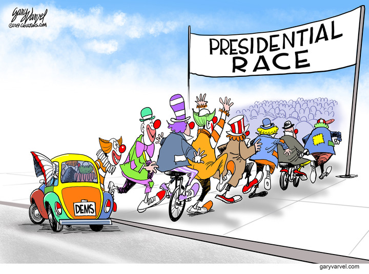 Schlemiel! Schlimazel! Democrats Incorporated!