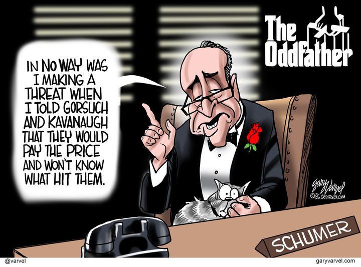 The shame of Chuck Schumer