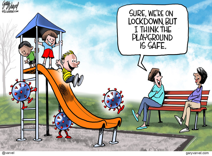 Gary Varvel for Mar 27, 2020