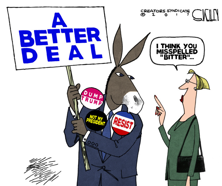 Dems' 'better deal' is a raw deal