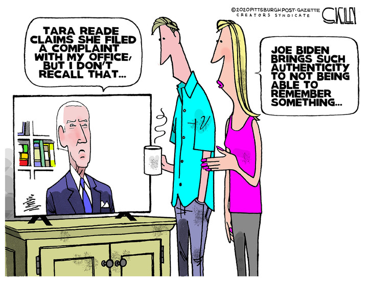 The two faces of Joe Biden