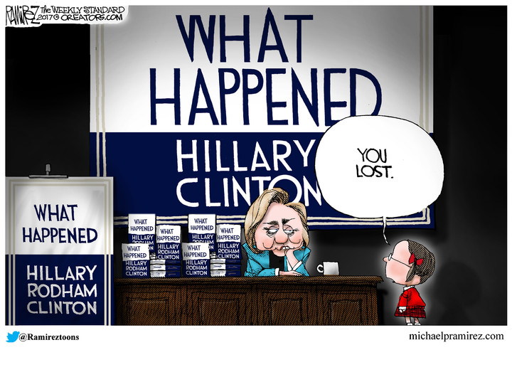 Hillary, Here Is What Happened