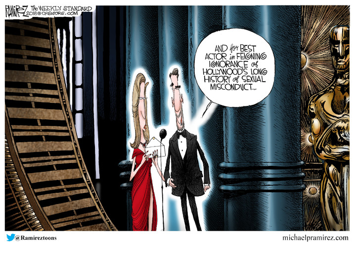 Michael Ramirez for Mar 05, 2018