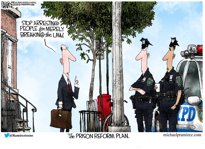 Michael Ramirez for Dec 16, 2018