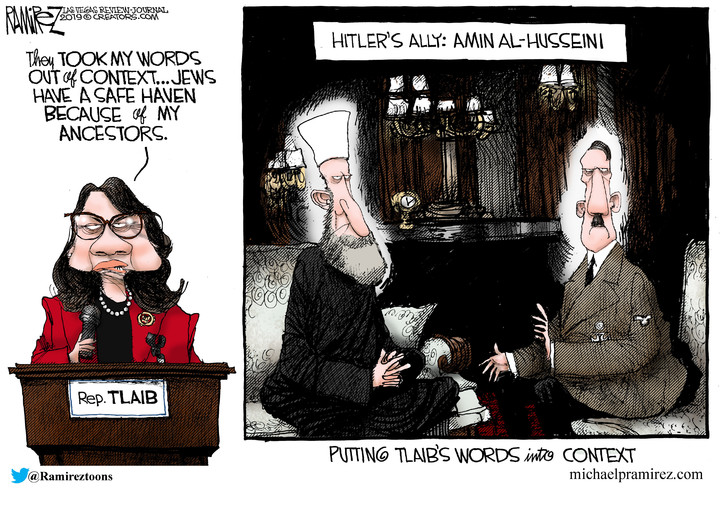 Michael Ramirez for May 15, 2019