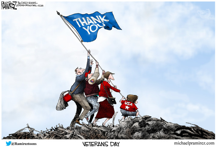 Michael Ramirez for Nov 09, 2019