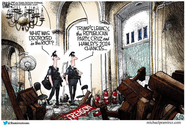 Michael Ramirez for Jan 11, 2021
