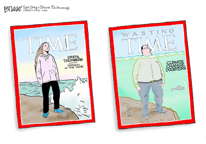 Steve Breen for Dec 12, 2019