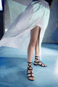Slip into stylish leather gladiator sandals. Shown: Stuart Weitzman at Nordstrom.