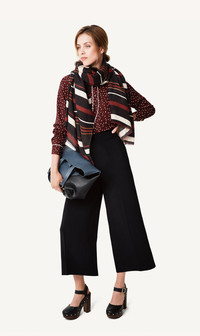 The statement blouse or jacket is a key item to buy for fall. www.target.com
