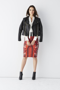 Treat yourself to a statement jacket this fall. Bisou Bisou moto multi-zip jacket at JCPenney. www.jcp.com.