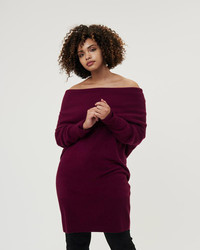 Inclusive sizes in stylish designs are one of fashion's biggest blessings. Cashmere sweater dress from Universal Standard, found online at universalstandard.com.