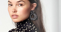 Sparkling statement jewelry and headbands make holiday-accessory news this season. www.lelesadoughi.com.