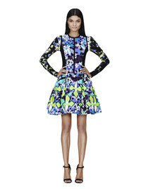 Check out new spring collections when shopping the sales. In 2014, designer Peter Pilotto's collection for Target was a winner in bright colors, like this purple floral dress for $69.99. Target and Net-A-Porter.com
