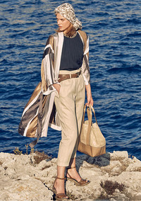 Bigger is better this spring when it comes to handbags. Shown: Brunello Cucinelli tote at www.neimanmarcus.com.