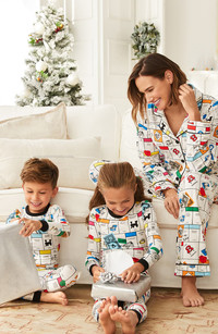 Shopping in pajamas! A real fashion blessing! BedHead Pajamas x Monopoly at Nordstrom.