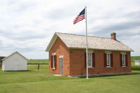 The Freeman School at the Homestead National Monument of America in Nebraska shows visitors how people lived who crossed the country in covered wagons. Photo courtesy of the Nebraska Tourism Association.