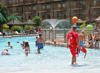 Visitors enjoy water fun at the Kalahari Resort in Sandusky, Ohio. Photo courtesy of Lake Erie Shores and Islands.