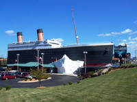 The partial replica of RMS Titanic, home of the permanent Titanic Museum in Branson, Missouri, honors the 2,208 passengers and crew members of the 1912 voyage through stunning photos, film footage and memorabilia retrieved from the 1987 Titanic expedition. Photo courtesy of Athena Lucero.