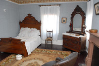 Frederick Douglass slept in this master bedroom at Cedar Hill in the District of Columbia. Photo courtesy of Cedar Hill.