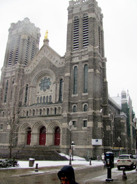 St-Roch Church is the focal point of a revitalized neighborhood of the same name in Quebec City, Canada. Photo courtesy of John Blanchette.