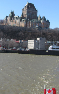 Hotel Frontenac in Quebec City, Canada, is said to be the most photographed hotel in the world. Photo courtesy of John Blanchette.