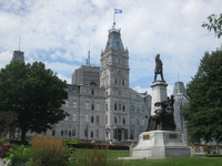 Quebec's parliament building is a definite must-see on a visit to Quebec City. Photo courtesy of Barbara Selwitz.