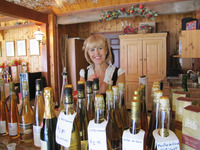 A bottle of local wine is a perfect souvenir of Quebec City's bucolic Ile d'Orleans. Photo courtesy of Barbara Selwitz.