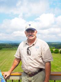Ed Land operates Chattooga Belle Farm in Upcountry South Carolina. Photo courtesy of Shivana Maharaj.