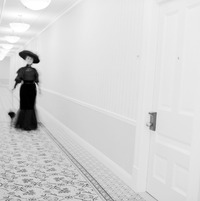 Staff and guests at the Hotel del Coronado in San Diego have reported seeing a beautiful brunette in black 1800s garb gliding down the corridors. Photo courtesy of the Hotel del Coronado.