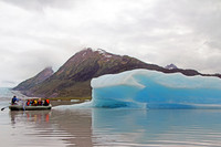 . This rafting excursion on Spencer Lake is only accessible by riding the Alaska Railroad's Glacier Discovery Train. Photo courtesy of Norma Meyer.