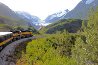 The Alaska Railroad offers passengers spectacular views and whistle stops to long remember. Photo courtesy of Norma Meyer.