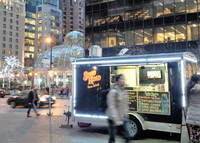 .Vancouver's thriving street-food scene is among the best in North America, with more than 100 food-cart vendors offering a variety of meals. Photo courtesy of Athena Lucero.