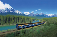 The Rocky Mountaineer takes passengers through some of the most dramatic scenery in North America. Photo courtesy of the Armstrong Group.
