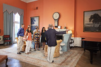 Visitors to the Greenbrier Hotel in White Sulfur Springs, West Virginia, take a tour to learn about the property's rich history. Photo courtesy of the Greenbrier Hotel.