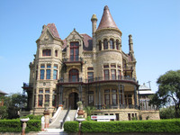 The Bishop's Palace in Galveston, Texas, is a must for architecture devotees. Photo courtesy of Barbara Selwitz.