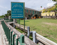 Alexander Hamilton's birthplace is also the Museum of Nevis History. Photo courtesy of Victor Block.