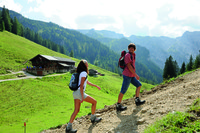 Hikers discover Austria's Tyrolean Alps. Photo courtesy of the Austrian Tourist Office.