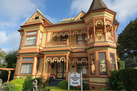 The Gingerbread Mansion B&B in Ferndale, California, is an excellent base for exploring northern California. Photo courtesy of Margot Black.