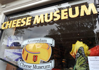 The Cheese Museum is one good place to sample cheese in Amsterdam, the Netherlands. Photo courtesy of Annie Coburn.
