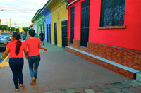 Colorful colonial-era buildings line the streets of Granada, Nicaragua. Photo courtesy of Jim Farber.