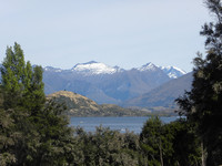 Many lakes and the Southern Alps characterize the South Island of New Zealand. Photo courtesy of Bill Neely.