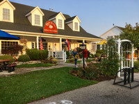 """Door County Coffee and Tea Co. welcomes the day with its locally roasted coffees, creative gift shop and delicious """"Kitchen Sink"""" breakfast. Photo courtesy of Lesley Sauls."""