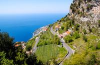 Italy's Amalfi Coast provides one of the most scenic drives in the world. Photo courtesy of Tomasz Guzowski/Dreamstime.com.