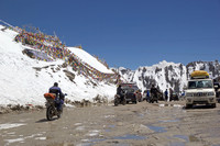 Khardung Pass in India is one of the highest driving routes in the world. Photo courtesy of Antonella865/Dreamstimne.com.