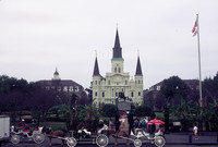 A scenic highlight of New Orleans is Jackson Square and the St. Louis Cathedral. Photo courtesy of Halina Kubalski.