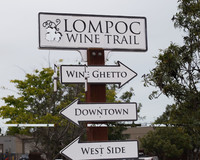 This useful sign directs visitors to the places they want to go in Lompoc, California, in Santa Barbara County. Photo courtesy of Halina Kubalski.