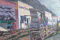 Lompoc, California, boasts murals painted by master artists throughout the town. Photo courtesy of Halina Kubalski.