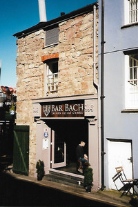 Bach Bar claims to be the smallest bar in Wales. Photo courtesy of Sharon Whitley Larsen.