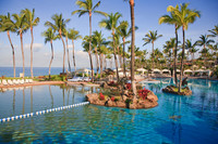 The Grand Wailea Hotel on Maui offers guests many options for swimming. Photo courtesy of the Grand Wailea Hotel.
